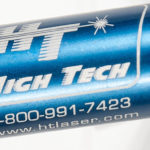 Laser Etched Anodized Aluminum