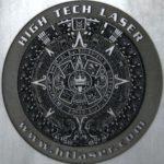 Laser Engraved Graphite Electrode