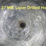 ".010"" Diameter Hole in Stainless Steel"