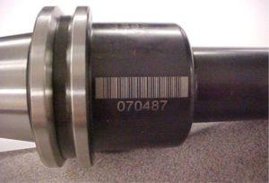Laser Engraved Bar Code